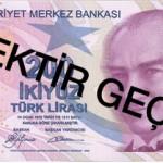 Yeni Banknotlarda İmla Hatası Tespit Edildi.
